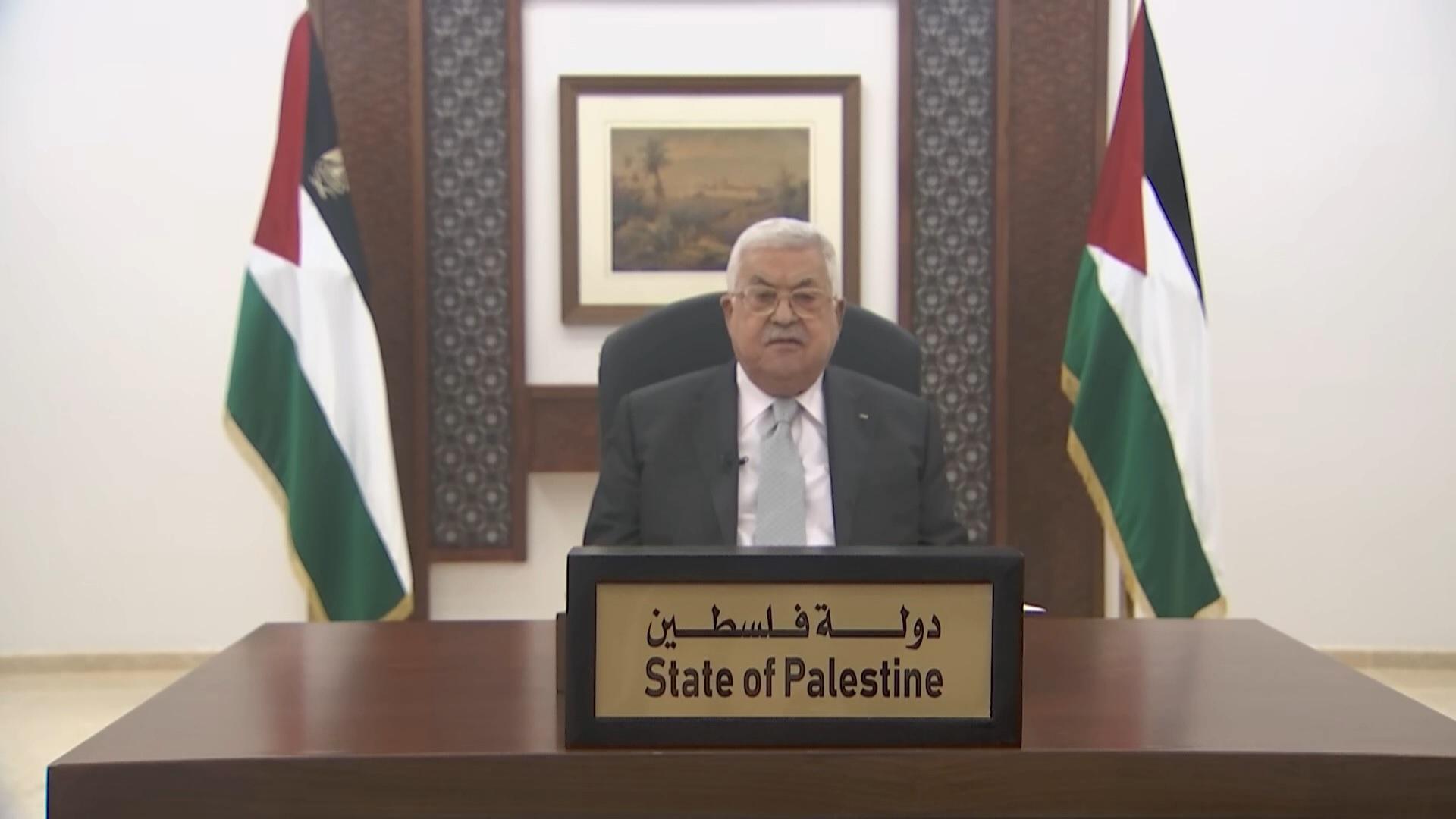 """MO, il presidente Mahmoud Abbas: """"Questione palestinese: banco di prova per il sistema internazionale"""""""